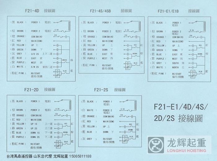 台湾禹鼎遥控器 f1eb 接线图 线路图 接线方法